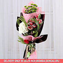 Exotic Pink Passion Bouquet: Exotic Flowers