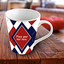 Exquisite Personalized Mug: Send Personalised Gifts for Diwali