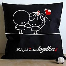 Falling In Love Cushion: Romantic Gifts for Boyfriend