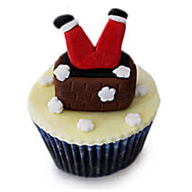 Falling Santa Cupcakes: Send Christmas Gifts  to Gurgaon
