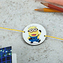 Favorite Minion Rakhi: Send Rakhi to Moga