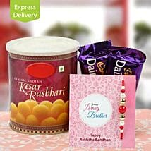 Flavour of love: Send Rakhi With Sweets to Roorkee