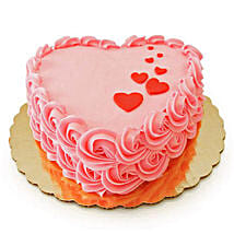 Floating Hearts Cake: Send Valentine Cakes to Chennai