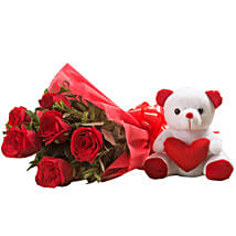 Flowerly and Fluffily Yours: Valentine Flowers Coimbatore