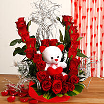 Flowerly Yours: Send Flowers & Teddy Bears - Karwa Chauth
