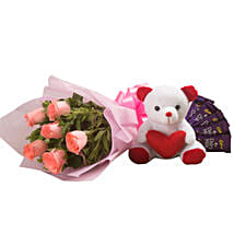 Flowers n Soft toy: Flowers to Ambala