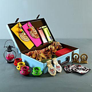 FNP Signature Box Diwali Goodies Hamper: Diwali Gifts for Employees