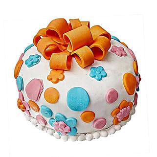 Fondant Baby Bash Cake: Cakes to Thoppumpady