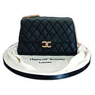 Fondant Handbag Cake: Premium Cakes