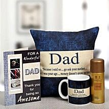 For My Wonderful Dad: Send Gift Hampers to Delhi