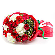 Gala of Red Roses: Hydrangea