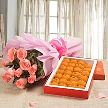 Gesture of Emotions: New Year Send Flowers & Sweets
