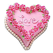 Gift A Heart Cake: Send Heart Shaped Cakes to Patna