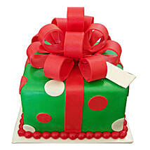 Gift Box Christmas Cake: Send Christmas Gifts to Family