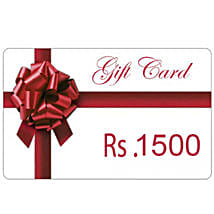 Gift Card 1500: Send Wedding Gifts to Aurangabad