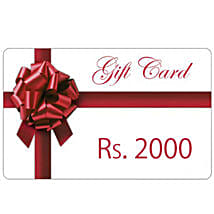 Gift Card 2000: Send Wedding Gifts to Aurangabad