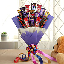 Glistening Choco Bouquet: Send Wedding Gifts to Udupi