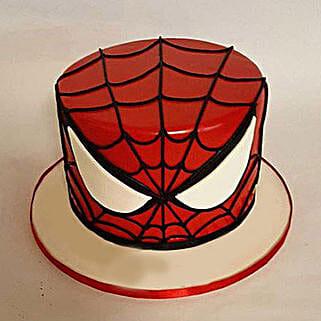 Glorious Spiderman Cake: