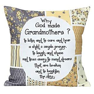 Grandmothers Cushion: Send Home Decor to Bengaluru