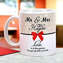 Gravity of love: Send Personalised Mugs for Her