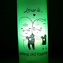 Growing Old Together Lamp: Send Home Decor to Bengaluru