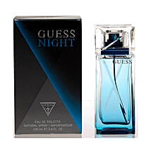 Guess Night For Men EDT Spray: Cakes to Saunda