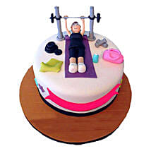 Gym Cake: Send Black Forest Cakes