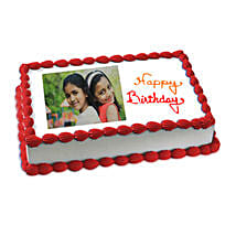 Happy Birthday Photo Cake: Photo Cakes to Pune