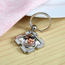 Happy Dad Personalized Keychain: Personalised Key Chains