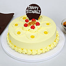 Happy Diwali Butterscotch Cake: Diwali Gifts for Girls/ GF