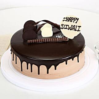 Happy Diwali Chocolate Cake: Diwali Gifts for Employees