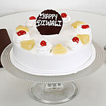 Happy Diwali Pineapple Cake: Cakes to Berhampur
