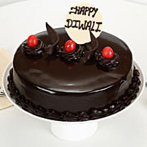 Happy Diwali Truffle Cake: Diwali Gifts With Same Day Delivery