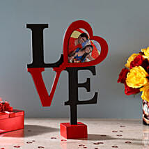 Hearty Love Frame: Valentine Personalised Gifts