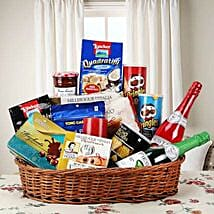 Hearty Sweet and Savory Basket: Gift Baskets to Lucknow
