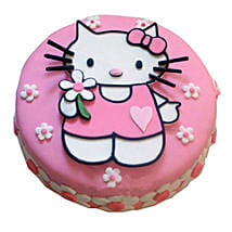 Hello Kitty Birthday Cake: Birthday Cake Delivery In Bangalore
