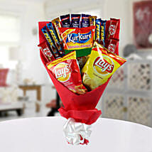 High on Snack Bouquet: Chocolate Gifts in India