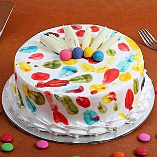 Holi Special Pineapple Cake: Holi Gifts