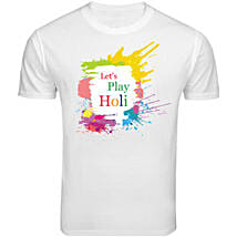Holi Special T Shirt: Holi Gifts to Lucknow