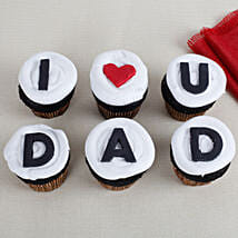 I Love You Dad Cupcakes: Cup Cake for Fathers Day
