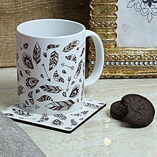 Ideal Printed Mug With Coaster: Fathers Day Mugs