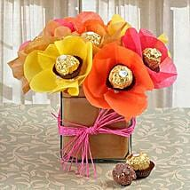 Irresistible Treats: Mothers Day Chocolate Bouquet