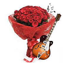 Jingly and Flowery: Flowers & Guitarist Service