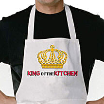 King Of The Kitchen Apron: Gifts to Adilabad