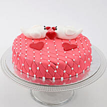 Kissing Birds Cake: Wedding Cakes