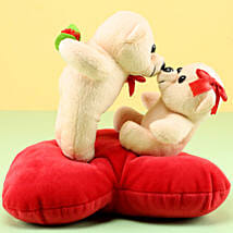 Kissing Teddy: Gifts to Moradabad