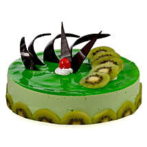 Kiwi Cheese Cake: New Year Cakes Ahmedabad
