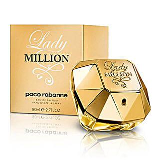 Lady Million Womens EDP Spray: Send Perfumes