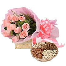 Lavishing Wishes: Flowers & Dry Fruits for Raksha Bandhan