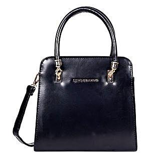 Lino Perros Satchel Handbag Black: Buy Handbags